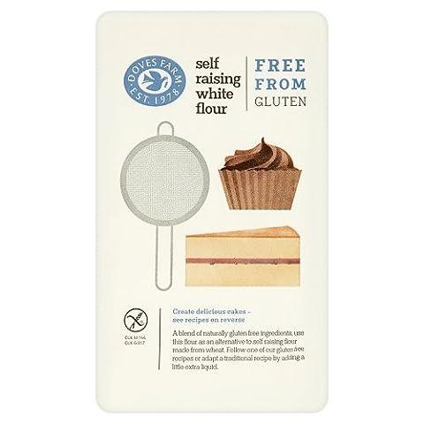 Doves Farm Gluten Free White Self Raising Flour Blend, 1kg