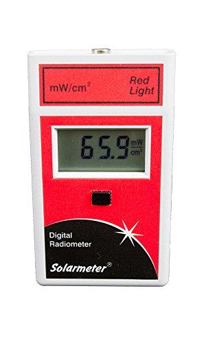 Solarmeter Modell 9,6rot Belichtungsmesser–Maßnahmen von 577–661Nm mit von 0–199.9MW/cm² rot Licht