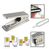 kemai Nano Sim Card Cutter Carte SIM Standard à Nano Carte SIM Cut Cutter pour téléphone Intelligent