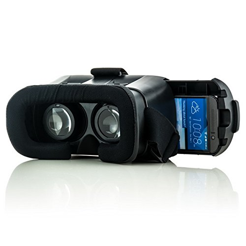 Saxonia VR Box Virtual Reality 3D-Brille für Huawei | Universal Virtuelle Realität Headset Gaming Video