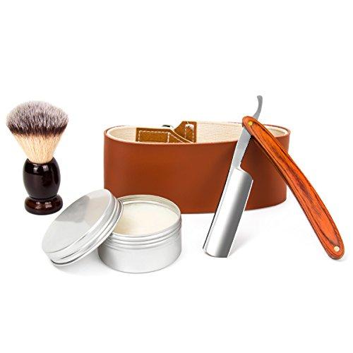 LUWANZ Kit afeitado manual Navaja afeitar completo