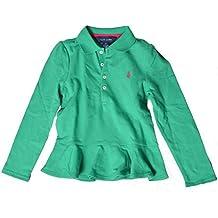 8abcb8c3f5a5 Polo Ralph Lauren T-Shirt à Manches Longues - Fille Vert Green