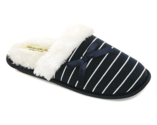 ladies-slip-on-mule-luxury-machine-washable-faux-fur-velvet-design-slippers-christmas-xmas-gift-7-to
