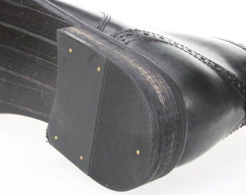 Red tape Nant Noir Marron richelieu en cuir à lacets Bottines de grande qualité Noir - noir