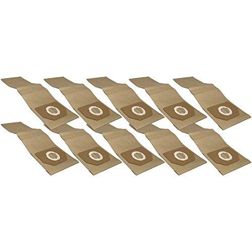10 Industrie- Baustellen- Gewerbe- Heavy Papier Staubsaugerbeutel passend für PARKSIDE PNTS 38, 6.904-263.0