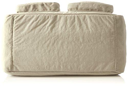 Kipling Unisex-Erwachsene Defea Schultertaschen, 33x25x19 cm Weiß (Tile White)