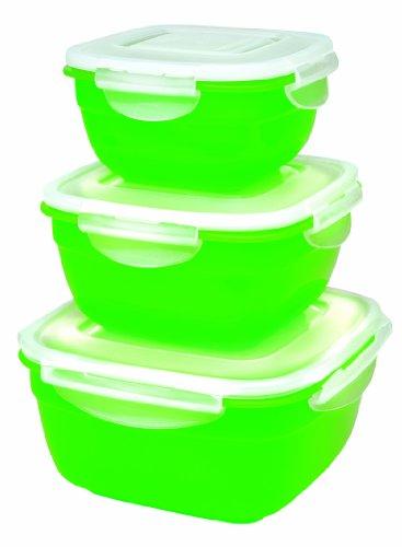 Lock & Lock HSM8450PSG3 Color Promotion Set Multifunktionsboxen 3tlg. grün