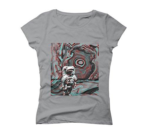 Sublime Space Women's 2X-Large Opal Graphic T-Shirt - Design By Humans (T-shirt Juniors Sublime)