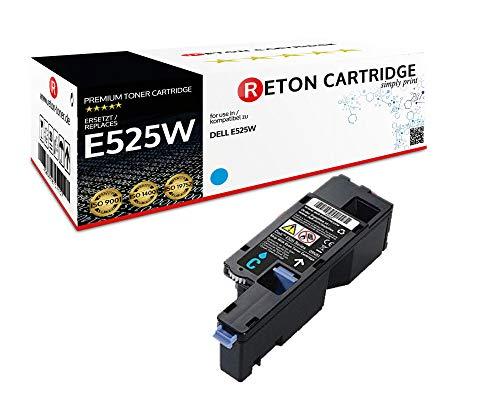 Reton Toner | 30% höhere Druckleistung | kompatibel zu Dell E525w - H5WFX / 593BBLL Cyan Kapazität: 1.820 Seiten -