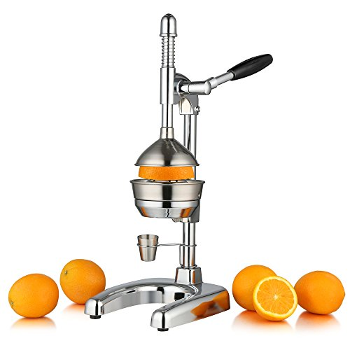 """ZELSIUS Saftpresse """"Sevilla"""" Professionelle Hebel Zitruspresse, Entsafter, Premium Obstpresse für Orangen, Zitronen, Granatäpfel, und vieles mehr"""