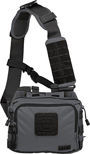 5.11Tactical Tasche 2Banger Umhängetasche, 25cm, 3.27L, grau Double Tap -