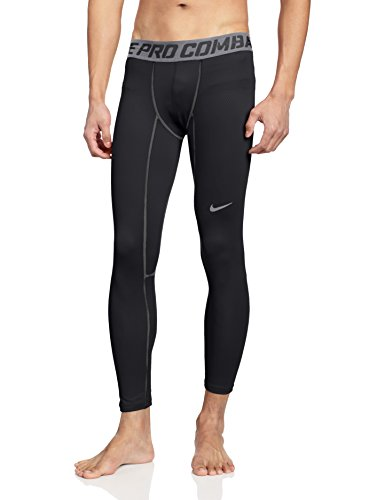 Nike Pro Hyperwarm Compression Lite Collant Homme Noir - Noir/gris
