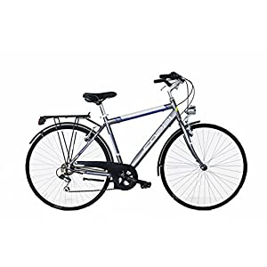 41zTLDo0AdL. SS300 Coppi Liverpool, Bicicletta da Città Uomo, Grigio, M
