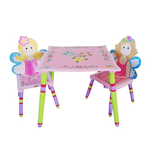 LibertyHouseToys Fairy Tisch und Stuhl-Set