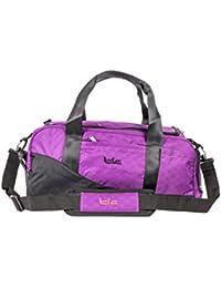 Tlc Isotherm Polyester, Nylon Purple Gym & Travel Duffel Bag