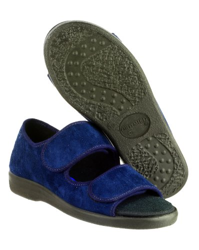 GBS Brompton Contact fixation bout ouvert Slipper Hommes Dames unisexe glisser Navy