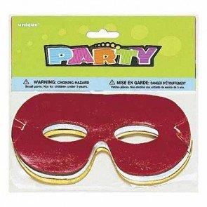 Maskerade Extravagante Masken (Augenmasken 8 Stück Folienmasken bunt für Kindergeburtstage und Feste ideal als)