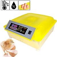 FastDirect Incubadora Automática DE 48 Huevos Pantalla Digital Llenando de Agua Externo(EU Stock) (48 Huevos)