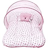 Goodonestep Baby Mattress With Mosquito Net (pink)