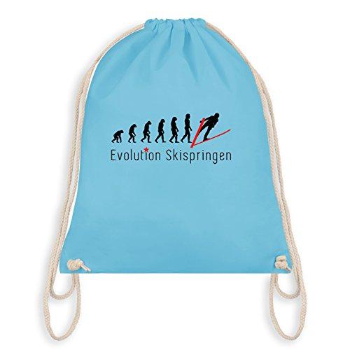 Evolution - Skispringen Evolution - Unisize - Hellblau - WM110 - Turnbeutel I Gym Bag