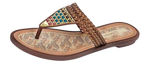 Grendha Silvestre Thong Flip flops de femme / Sandales Bronze