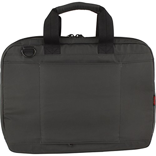 Hedgren Zeppelin Revised Aktentasche, 38 cm, Black Charcoal Grey