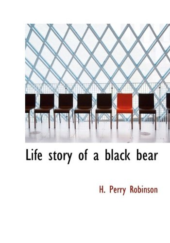 Life story of a black bear