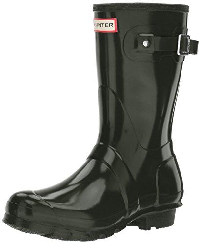 Hunter Damen Wmn Org Short Gloss Gummistiefel, Grün (Dark Green/dov), 38 EU (Hunter Verstellbare Stiefel)