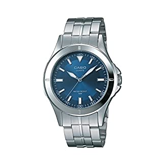 Casio Enticer Analog Blue Dial Men's Watch – MTP-1214A-2AVDF (A343)