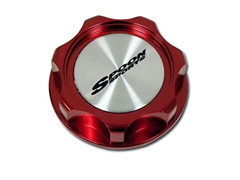 SPOON SPORTS OIL Filler CAP in RED Billet Aluminum for Honda Acura Type R Type-r TYPE-S S GT Civic Integra Si CRZ CRX GSR Prelude Accord NSX RS LS GS CRV CR-V CRZ CR-Z TSX Element Fit S2000 JDM80 81 82 83 84 85 86 87 88 90 91 9293 94 95 96 97 98 00 01 02 03 04 05 06 07 08 09 10 1980 1981 1982 1983 1984 1985 1986 1987 1988 1989 1990 1991 1992 1993 1994 1995 1996 1997 1998 1999 20 2001 2002 2003 2004 2005 2006 2007 2008 2009 2010