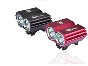 KK-LIGHT KKgud NEW 5000 Lumens 2x CREE XM-L U2 LED 4 Modes Outdoor Bicycle Bike Lamp Front light