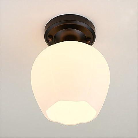 QWER Idées créatives moderne Lampe Murale à Led lumière allée Tournesol couloir plafond respectant la lampe témoin s
