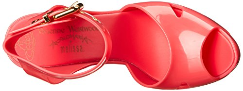 Vivienne Westwood Melisa Slave Synthétique Talons Compensés red