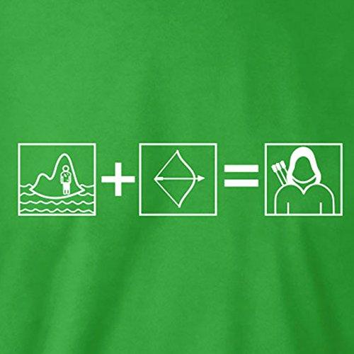 TEXLAB - Becoming Arrow - Herren T-Shirt Navy