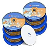 Verbatim DVD-R 4.7 GB/120 Min, 16x, fullprintable, No ID, 200 Stück in Cakebox