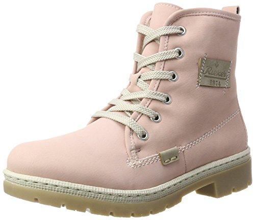 Rieker Damen Y9410 Stiefel, Pink (Rosa/Nebel), 38 EU -