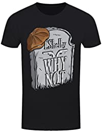 Grindstore Men's Tommy Shelby Gravestone T-Shirt Black