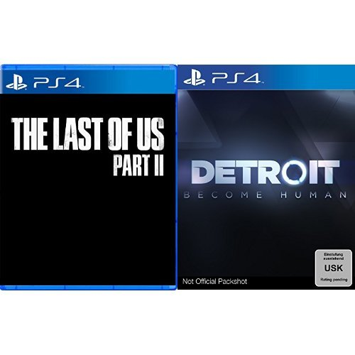 The Last of Us Part II [PlayStation 4] & Detroit: Become Human - [PlayStation 4]