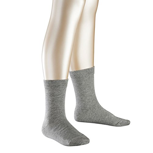 Falke Kinder Socken Family 5er Pack, Größe:31-34;Farbe:Light Grey Melange (3400)