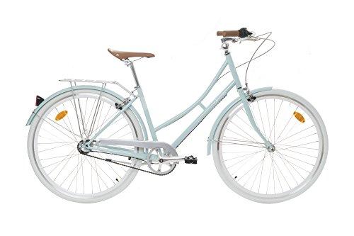 Fabric City Bicicleta de Paseo- Bicicleta de Mujer, Cambio Interno Shimano 3V, 5 Colores, 14kg