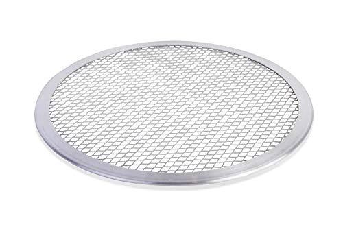 """4X Pizza Screen Baking Tray Aluminium Mesh Net 10"""" to Produce Evenly Baked Crusts"""