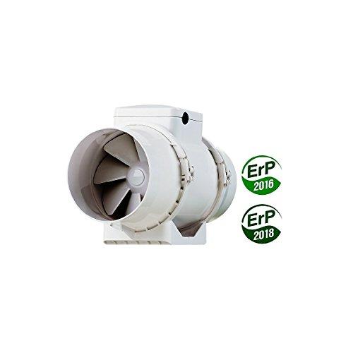 Extracteur Tt 100 - 2 Vitesses 145 Et 187m3h - Vents