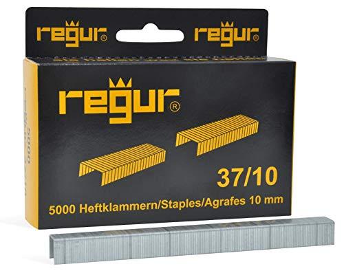 Plateado Rapid Agrafes n/°53//10mm-galvanis/ées-Boite Plastique refermable de 5000 Grapas