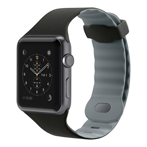 Belkin F8W730btC00 - Correa Deportiva para Apple Watch (42 mm/44 mm), Banda Deportiva para Apple Watch Series 4, 3, 2, 1 (Pulsera de Reloj para Apple Watch)
