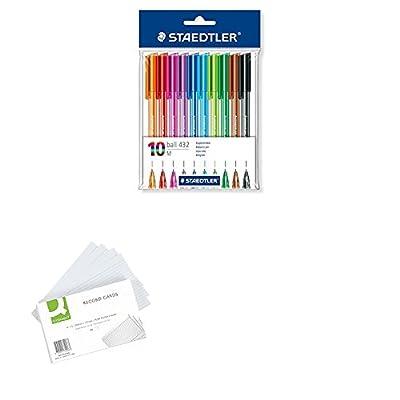 Staedtler Retractable Rainbow Ballpoint Pen - Assorted Colour