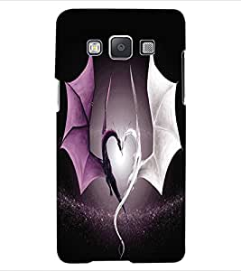 ColourCraft Beautiful Dragon Heart Design Back Case Cover for SAMSUNG GALAXY A5 A500F
