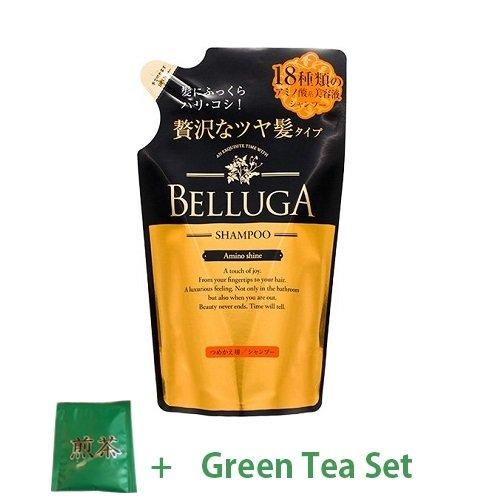Belluga Japan Salon Amino Shine Hair Shampoo - 350ml - Refill (Green Tea Set)