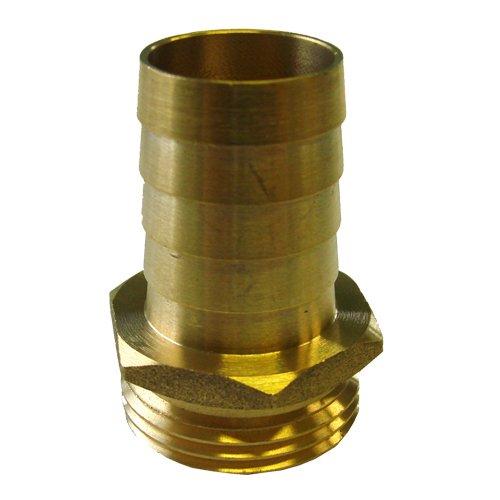 Sirocco tétine-raccord de tuyau en laiton 1,25\