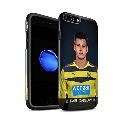 Officiel Newcastle United FC Coque / Brillant Robuste Antichoc Etui pour Apple iPhone 7 Plus / Rivière Design / NUFC Joueur Football 15/16 Collection Darlow