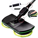 CHUANG Electric MOP Lunga Durata Bundle Prestazioni-Ricaricabile, Cordless, Powered Floor Cleaner lavapavimenti lucidatrice MOP